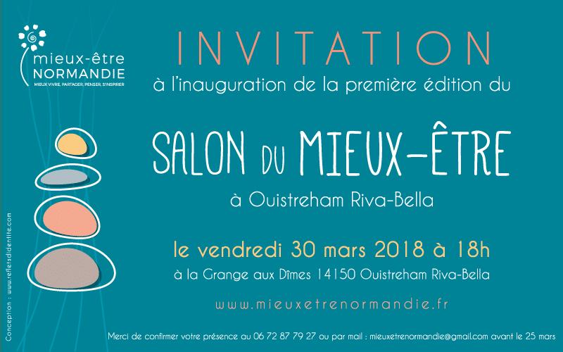 Inauguration du Salon du Mieux-être 2018 à Ouistreham Riva-Bella
