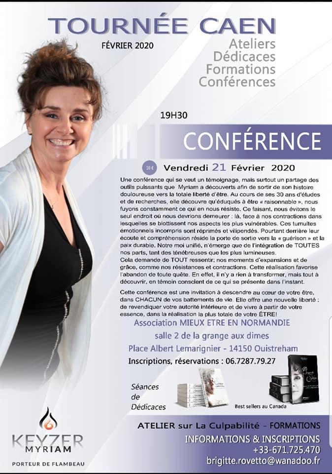 Conférence de Myriam Keyzer